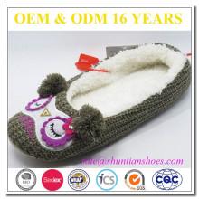 2016 Les pantoufles intérieures personnalisées à l'hiver pour femmes