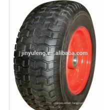 16x6.50-8 rubber wheel for tool cart , wheel barrow , hand truck ,trolley ,lawn mower,graden cart
