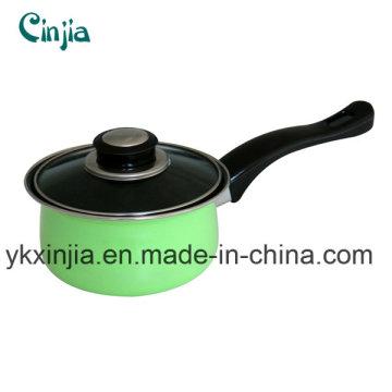Utensílios de cozinha 14-20 centímetros panela de leite alemão colorido, molho pan, utensílios de cozinha