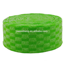 JML1319 Colorful Dish washing sponge raw material sponge scourer cloth material for household
