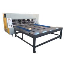 High efficiency cardboard rotary slotter grooving machine price