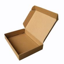 Caixa de embalagem de papel ondulado personalizada para roupas
