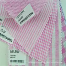 Em estoque de tecido xadrez para roupas infantis