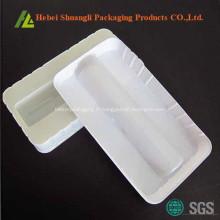 Bac à médicaments en plastique à thermoformage blanc