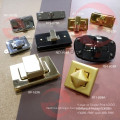 For Leather Bags of Metal Accessories Oval Twist Turn Lock