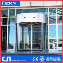 Puertas giratorias automáticas de lujo de 3 alas