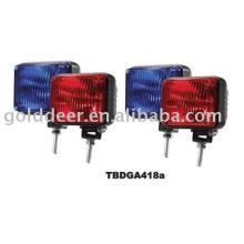 12V Strobe Xenon Light Police Motorcycle Xenon Warning Lights(TBDGA418a)