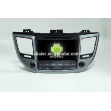 Reproductor multimedia Android Quad Core para coche, wifi, BT, enlace espejo, DVR, SWC para Hyundai IX35 2015