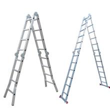 4x3 steps aluminium lightweight folding step ladder