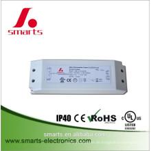 ETL FCC listete 12v 24v 30w dali dimmbare LED-Treiber auf