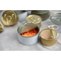 Консервы из тунца с твердым салатом в жестяной банке Рыбий жир