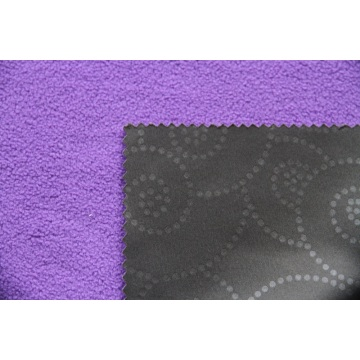 Высокое качество цветка эластичная рельефная Softshell ткань