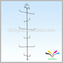 black classical 13 hangers metal wire hook display for clothes hanger
