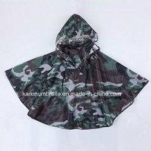 Верхнее качество Водоустойчивое пальто дождя малышей водоустойчивое