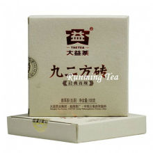 """2011 Dayi Factory """"Jiu Er Fang Zhuan"""" Raw Pu Er Brick, 100g / brique"""