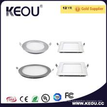 Ultra delgado alto PF 0.9 Alta IP44 Panel LED luz de panel de 3-24W luz