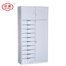 China factory custom modern KD metal storage cabinets with 10 drawers