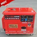 Preço fixo do gerador de diesel 5kw com certificação CE e GS