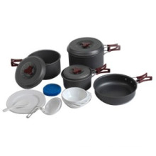 Outdoor Camping Cookware Set (CL2C-DT1915-7)
