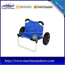 Прицепная тележка, тележка для каяка из полиуретанового колеса, тележка для каяка из анодированного алюминия
