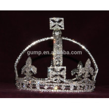 classical round tiara