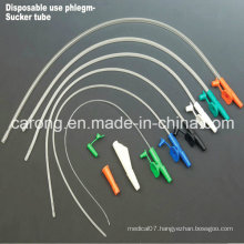 Medical PVC Finger Control Suction Catheter