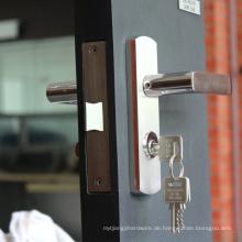 Baumaterial-Edelstahl 304 verbessern Entwurfshebel Verschluss-Eintragshardware-Türschloss-System