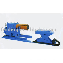 China low cost fully automatic hydraulic steel uncoiler for rolling machine