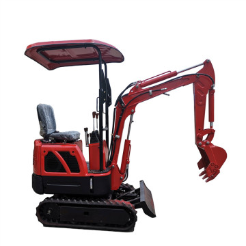 2 Ton 1 3t Hammer Small 0.8t 1.8 Crawler China Geel Mini-graafmachine te koop