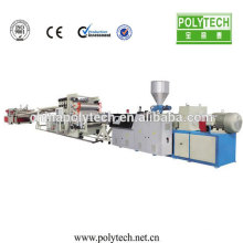 PVC/PP/PE/PS/PC High Automation Reliablity Low Power Plastic Sheet/Board Extrusion Machine