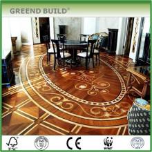 Large Size Pattern Custom Maple Walnut Cheap Wood Parquet Flooring For Sale