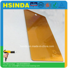 Оптическая цена Электростатическая краска для распыления Конфеты Оранжевые порошковые покрытия
