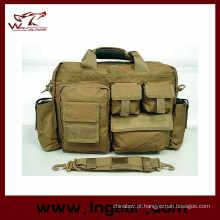 Saco de Airsoft do Nylon tático mão Carring Laptop bolsa maleta