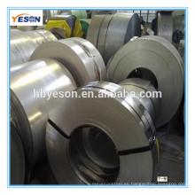 Fabricante profesional Bobina de acero inoxidable laminada en frío ASTM 304 con precio barato