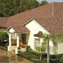Red Roofing Tile /Johns Manville Asphalt Shingle /Self Adhesive Roofing Material (ISO)