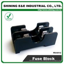 FB-6012 Für 6x30mm Glassicherungsschiene montiert 600V 2 Stange 15A Sicherungsblock