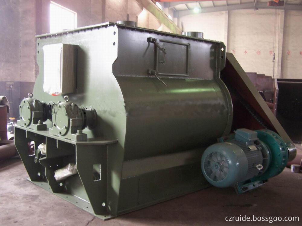 Step-Down Start Feed Material Mixing Paddle Mixer