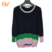Suéter negro oversize Lady Fall Sweaters para mujer