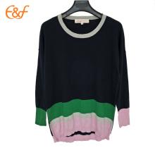 Pull surdimensionné Lady Fall Sweaters Femme Noir