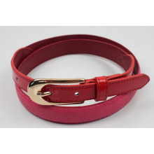 2014 New fashion lady fancy PU belt