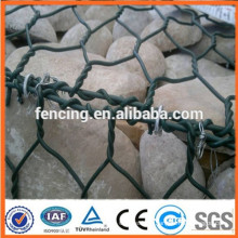 pvc coated gabion box price/ gabion basket coat for lowest price