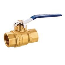 Válvula de bola de latón pn20, válvula de bola de cobre amarillo J2037, buen precio y calidad