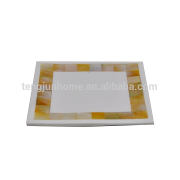 Mother of pearl shell soap dish silicone soap dish