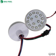 Paseos de atracciones a prueba de agua 60mm luces ucs1903 ws2812b pixel led ws2811 24vdc