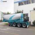 CHVM Tri Axle Bulk Cement Tank Semi Trailer