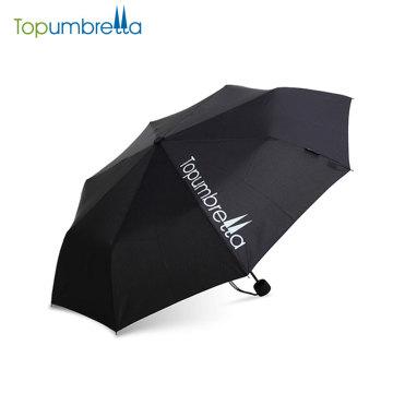 Ensoleillé et pluvieux Manuel ouvert et proche bâton pliant parapluie
