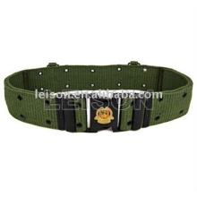 Military Belt with ISO and SGS standard Cotton or Nylon material