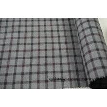 Três cores de tecido de lã Tweed