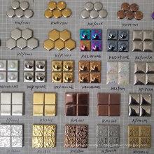 Carrelage en mosaïque de galets pour mur