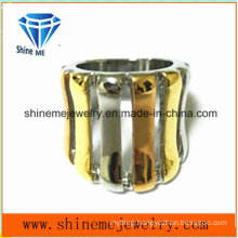 High Quality Electroplating Stainless Steel Jewellery Ring (SCR2965)